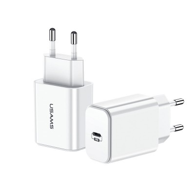 Usams T14 PD Fast Travel USB Charger (US-CC069)