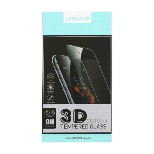Глянцевое защитное 3D стекло Премиум класса для iPhone SE 2020